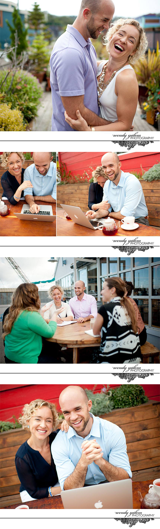 Personal Branding Photoshoot with Kate and Mike by Wendy K Yalom
